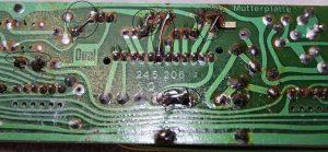 Wurde als im Original-Zustand verkauft, ein 731 Q mit defektem Balancegewicht und gebrochener Haltenase am Tonkopf